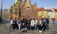 Deutsch-polnische Gruppe in Breslau