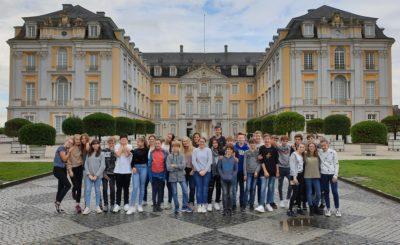 Exkursion nach Brühl