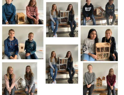Der Winter kann kommen…Ein Projekt in Kunst der Klasse 7a