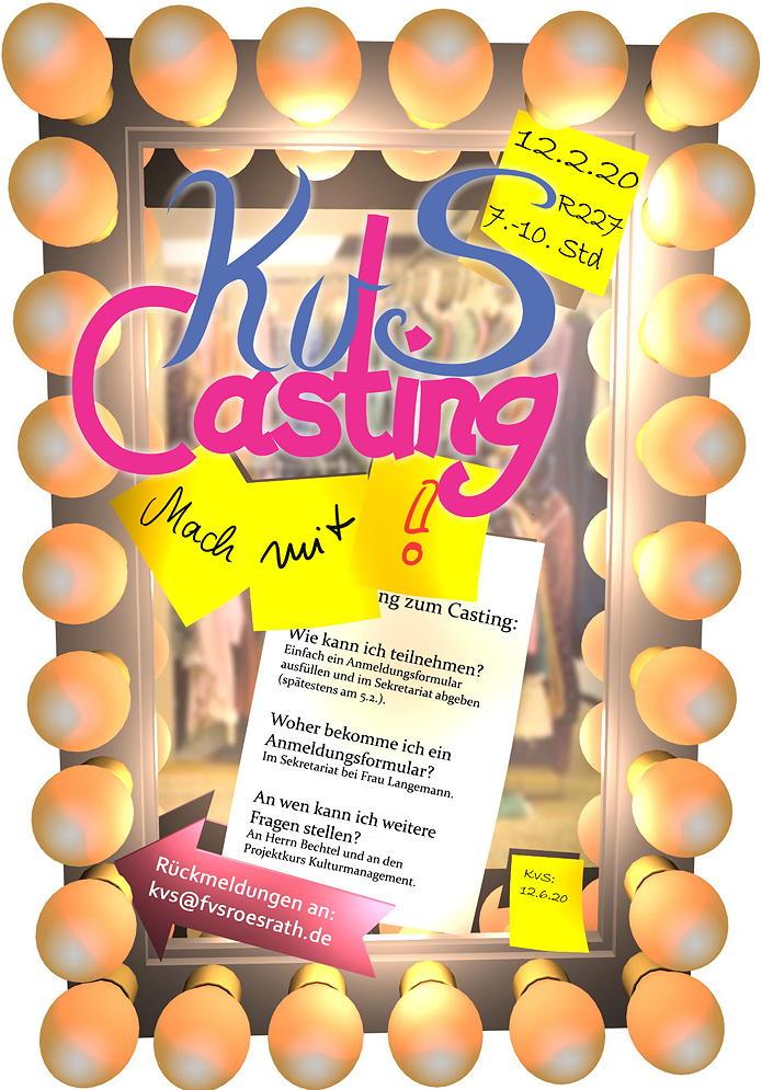 Casting KvS 2020