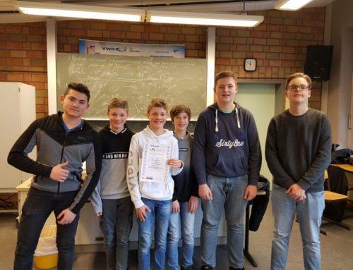 Schachmannschaft des FvS qualifiziert sich für die Schulschach-Bundesliga