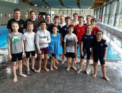 FvS-Schwimmer gut ins neue Wettkampfjahr gestartet