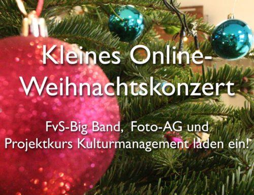Kleines Online-Weihnachtskonzert